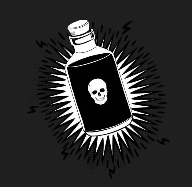 botella veneno