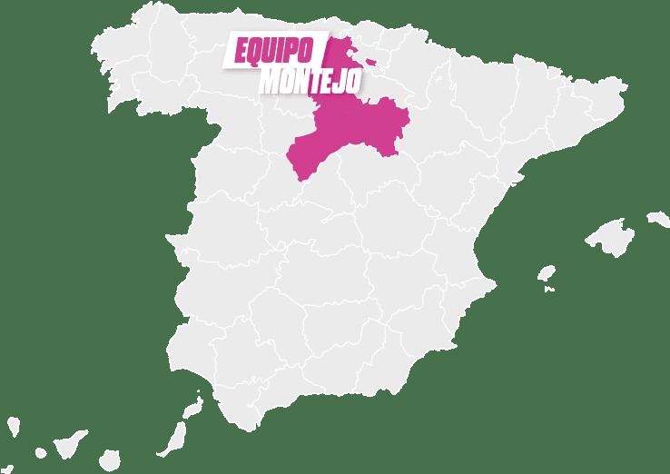 mapa Montejo