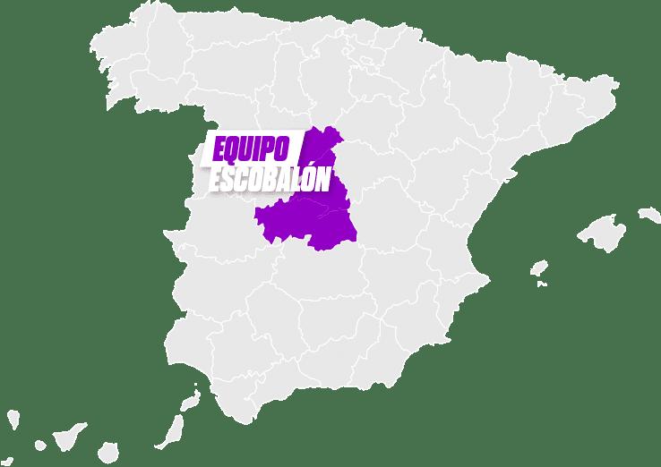 mapa Escobalón