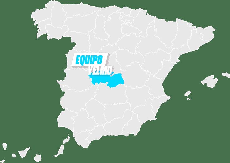 mapa Yelmo